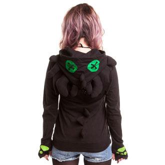 kapucnis pulóver női - Voodoo Dragon - CUPCAKE CULT, CUPCAKE CULT