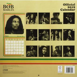 2019 Naptár BOB MARLEY, NNM, Bob Marley