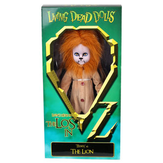 LIVING DEAD DOLLS bábu - Teddy as The Lion, LIVING DEAD DOLLS