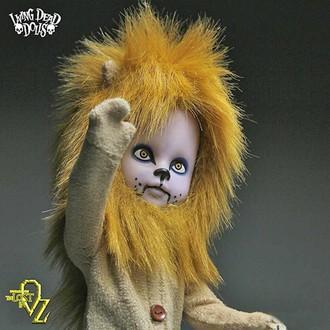 LIVING DEAD DOLLS bábu - Teddy as The Lion, LIVING DEAD DOLLS