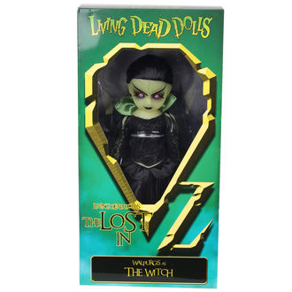 LIVING DEAD DOLLS bábu - Walpurgis as The Witch, LIVING DEAD DOLLS