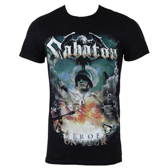 metál póló férfi Sabaton - Heroes on tour - NUCLEAR BLAST, NUCLEAR BLAST, Sabaton