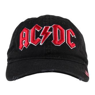 siltes sapka AC / DC - Black - F.B.I.., F.B.I., AC-DC