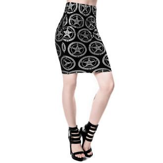 KILLSTAR női szoknya - Baphomet, KILLSTAR
