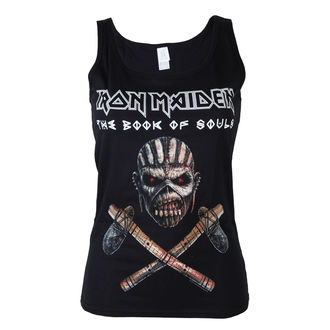 Iron Maiden női trikó - Axe - BLK - ROCK OFF, ROCK OFF, Iron Maiden