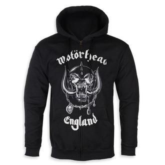 kapucnis pulóver férfi Motörhead - England - ROCK OFF, ROCK OFF, Motörhead