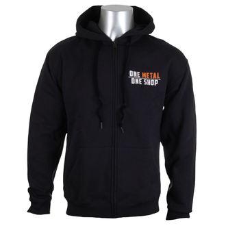 kapucnis pulóver férfi - Black - METALSHOP, METALSHOP