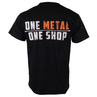 metál póló férfi - Black - METALSHOP, METALSHOP