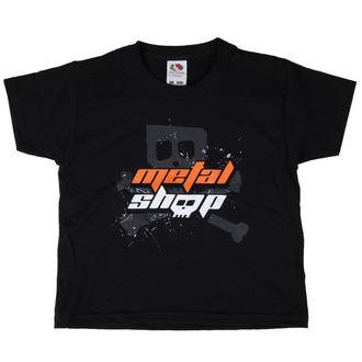 metál póló gyermek - Black - METALSHOP, METALSHOP