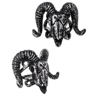 Restyle gyűrű - Ram Skull Silver, RESTYLE