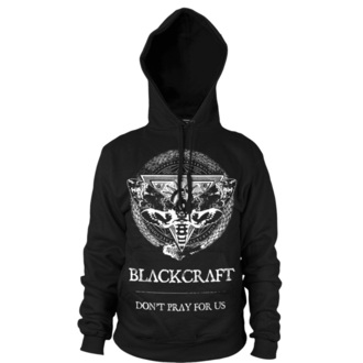 kapucnis pulóver férfi - Protection Moth - BLACK CRAFT - HS032PM