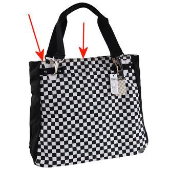 VANS táska (kézitáska) - Chk Should Bag - Black/White - SÉRÜLT, VANS