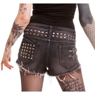 VIXXSIN női rövidnadrág - Razer - Black, VIXXSIN