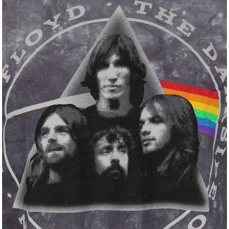 metál póló férfi Pink Floyd - Dark Side Group Tie-Dye - LIQUID BLUE, LIQUID BLUE, Pink Floyd