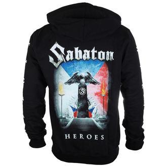 kapucnis pulóver férfi Sabaton - Heroes Czech republic - CARTON