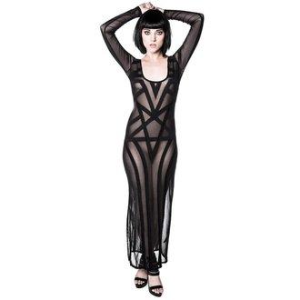 KILLSTAR női ruha - Zandra Mesh - Black, KILLSTAR