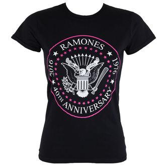 metál póló női Ramones - 40th Anniversarry - ROCK OFF, ROCK OFF, Ramones