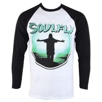 Soulfly hosszú ujjú férfi póló - One Baseball - NUCLEAR BLAST, NUCLEAR BLAST, Soulfly