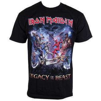 metál póló férfi Iron Maiden - Legacy Of The Beast - ROCK OFF, ROCK OFF, Iron Maiden
