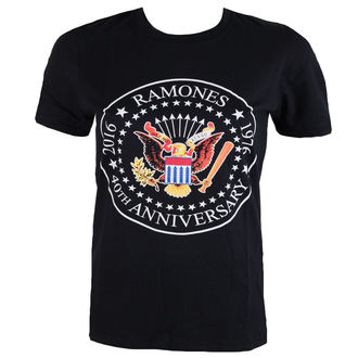 metál póló férfi Ramones - 40th Anniversarry Seal - ROCK OFF, ROCK OFF, Ramones