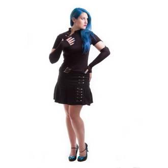 gót és punk póló női - Safety Pin - MILISHA, MILISHA