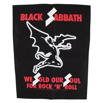 Black Sabbath felvarró  - We sold our soul for rock n' roll - RAZAMATAZ, RAZAMATAZ, Black Sabbath