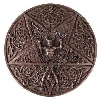 falra dekoráció Horned God and Goddes elemi - NENOW, Nemesis now