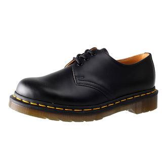 Dr. Martens cipő - 3 lyukú - Black Smooth, Dr. Martens