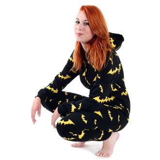 kapucnis pulóver női - Blk/Ylw - JAWBREAKER