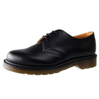 Dr. Martens cipő - 3 lyukú - PW Black Smooth, Dr. Martens
