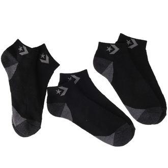 CONVERSE zokni - 3 pár - BLK - E143B