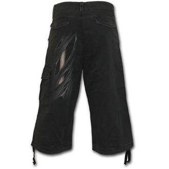 rövidnadrág férfi SPIRAL - Bone Rips - Black, SPIRAL