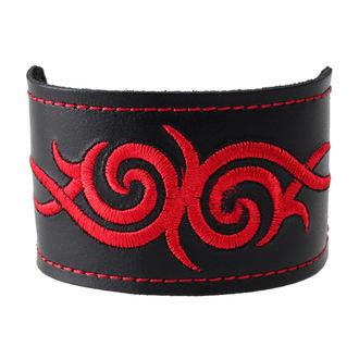 karkötő Tribal - Red, BLACK & METAL