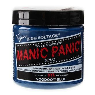 MANIC PANIC hajfesték - Classic - Voodoo Blue, MANIC PANIC