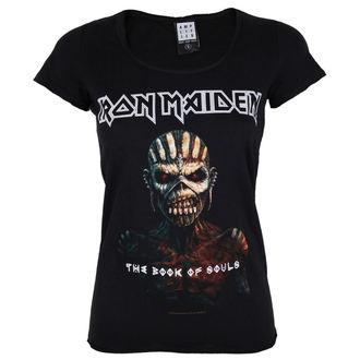 metál póló női Iron Maiden - BOOK OF SOULS - AMPLIFIED, AMPLIFIED, Iron Maiden