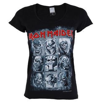 metál póló női Iron Maiden - EDDIES - AMPLIFIED, AMPLIFIED, Iron Maiden