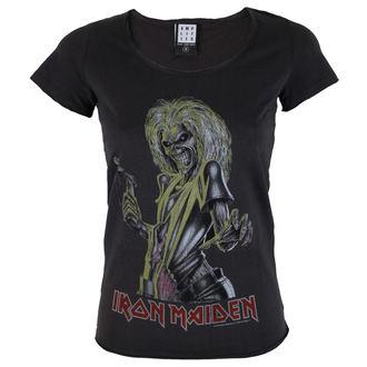 metál póló női Iron Maiden - KILLER - AMPLIFIED, AMPLIFIED, Iron Maiden