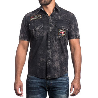 AFFLICTION férfi ing - No Rival - BK, AFFLICTION