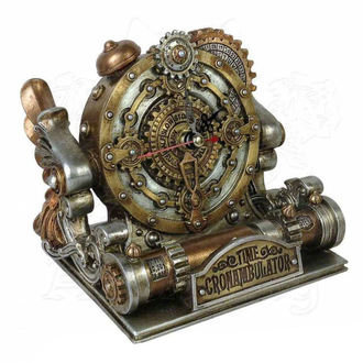ALCHEMY GOTHIC óra (dekoráció)  - Time Chronambulator, ALCHEMY GOTHIC