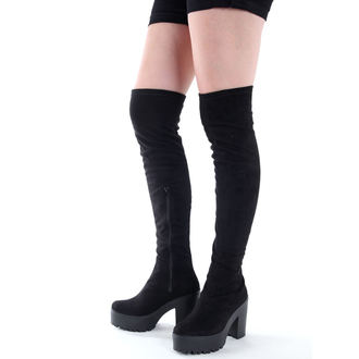 magassarkú cipő női - ALTERCORE - Michel Black