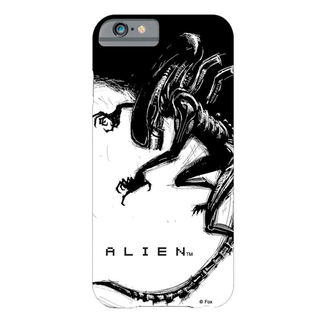 Alien telefontok - iPhone 6 Plus Xenomorph Black & White Comic, Alien - Vetřelec