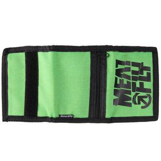 MEATFLY pénztárca - Nightcall - C - Zöld, Fekete, MEATFLY