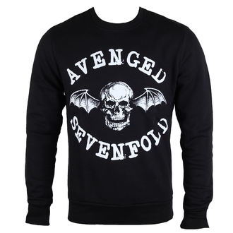 pulóver (kapucni nélkül) férfi Avenged Sevenfold - Classic Deathbat - ROCK OFF, ROCK OFF, Avenged Sevenfold