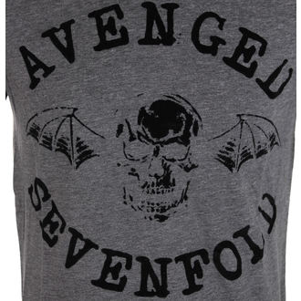 metál póló férfi Avenged Sevenfold - Classic Deathbat Acid Wash - ROCK OFF, ROCK OFF, Avenged Sevenfold