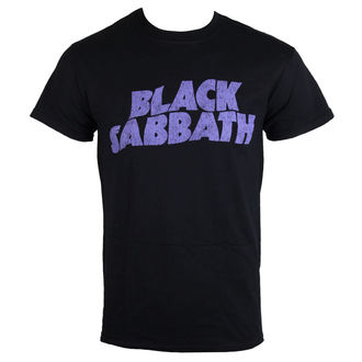metál póló férfi Black Sabbath - Wavy Logo - ROCK OFF, ROCK OFF, Black Sabbath