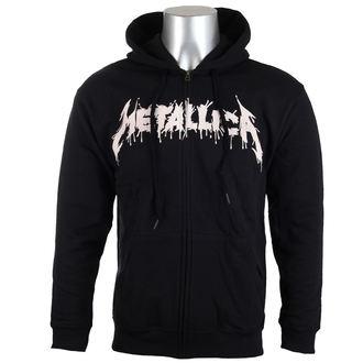 kapucnis pulóver férfi Metallica - One Black - - RTMTLZHBONE