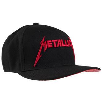 Metallica sapka - Red Damage - Black - ATMOSPHERE, Metallica