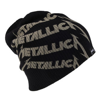Metallica beanie sapka - Metallica - Repeat Logo - ATMOSPHERE - PRO034