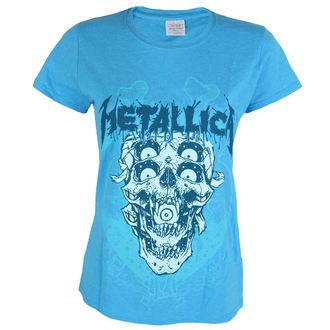 metál póló női Metallica - Double Skull - - PRO040