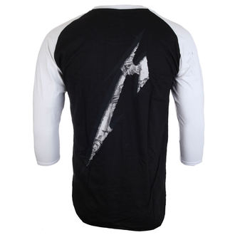 metál póló férfi Metallica - Justice Black/White Baseball - NNM, NNM, Metallica